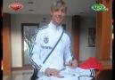 Beşiktaş'lı Guti formasını Alonso'ya yolladı [HQ]