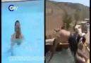 kamyonda havuz keyfi :)) bu sıcaktada iyi gider xDD