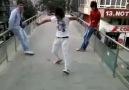 köprüde dans  =)