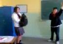 Liseli kızdan dönen tekme !!  My Video (Sınırsız Video)