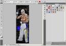 Photoshopta Resım Yapma ve Eğimli Yazı Yazma [HQ]