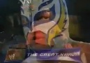 The Great Khali vs Rey Mysterio