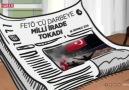 TRT Haber - Bugün Bir milletin hayasız akını...